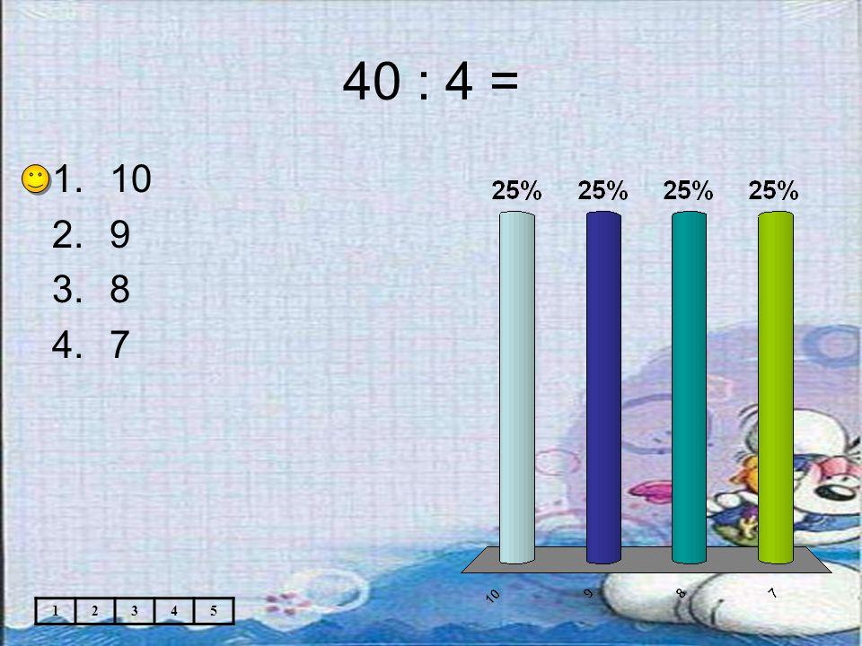 Téma: Matematika 2.roč. –Násobení a dělení 4 Použitý software: držitel licence - ZŠ J.