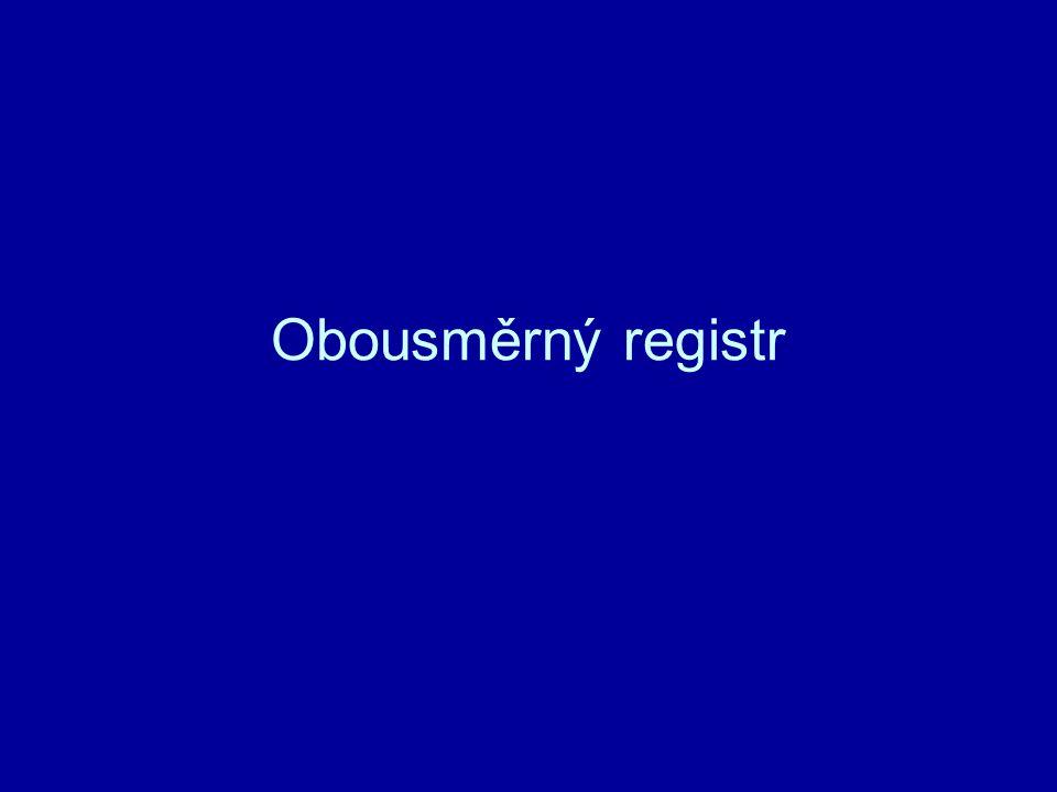 Obousměrný registr