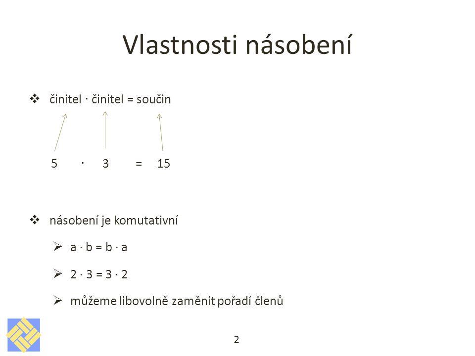 Řešení a)2[- (10 + 6) : 2 – 4] = 2[- (16) : 2 – 4] = 2[- 8 - 4] = 2[- 12] = - 24 b)2[- (10 + 6) : (2 - 4)] = 2[- (16) : (- 2)] = 2[ 8 ] = 16 c)2[- 10 + (6 : 2) – 4)] = 2[- 10 + (3) – 4)] = 2[- 11] = - 22 d)2[- 10 + 6 : (2 – 4)] = 2[- 10 + 6 : (- 2)] = 2[- 10 - 3] = 2[- 13] = - 26 e)14 – 2· 3 – 4 · (- 6) + 18 : 6 = f)(14 – 2) · 3 – 4 · (- 6 + 18) : 6 = g)(14 – 2) · 3 – 4 · (- 6) + (18 : 6) = h)14 – 2 · (3 – 4) · (- 6) + 18 : 6 = 13