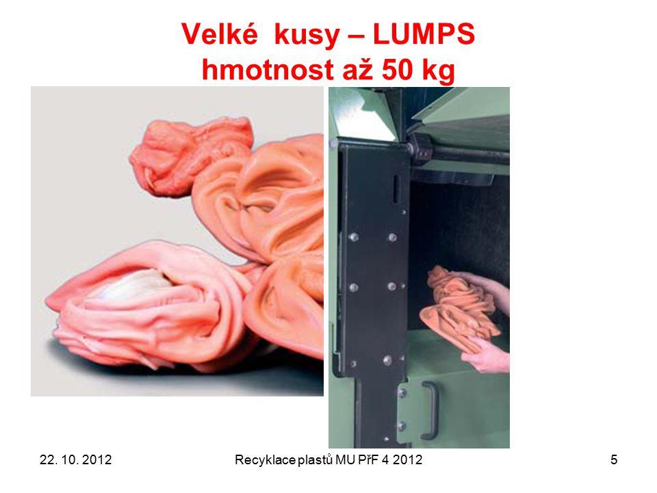 Recyklace plastů MU PřF 4 201236 SMĚR TOKU TAVENINY Krycí tkanina (síto) FILTRAČNÍ tkanina (síto) Podložní tkanina (síto) LAMAČ (převzato z doporučení knihy od V.