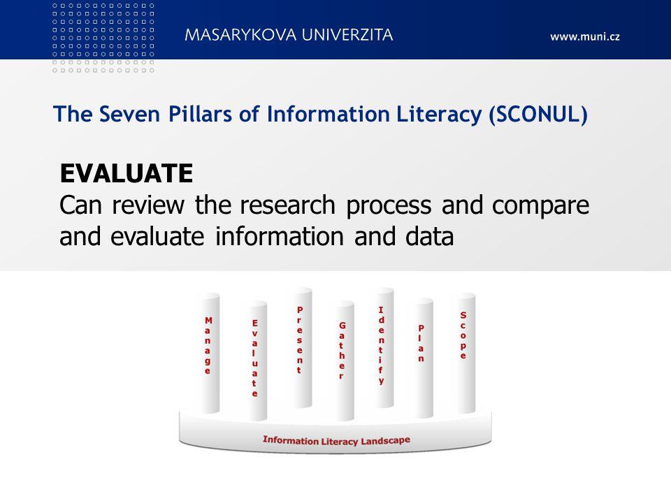 Standard informační gramotnosti vysokoškolského studenta Název prezentace v zápatí19  využívá prameny numerických a technických informací, vyhledává a zpracovává numerická a technická data a používá je při své odborné práci,  ovládá mateřský jazyk a dokáže se v něm slovně i písemně vyjadřovat, zná a používá odbornou terminologii svého studijního oboru v mateřském i cizím jazyce, zejména angličtině, na úrovni potřebné k práci s odbornými s odbornými informačními zdroji a komunikaci v rámci komunity daného oboru,  používá běžně dostupné informační a komunikační technologie potřebné k vyhledání, získání, zpracování a prezentaci informací (různého typu a formátu), které se týkají jeho studia a odborné práce,  je si vědom morálních a právních aspektů využívání informací a pracuje s informacemi v souladu s autorskou etikou a autorským právem.