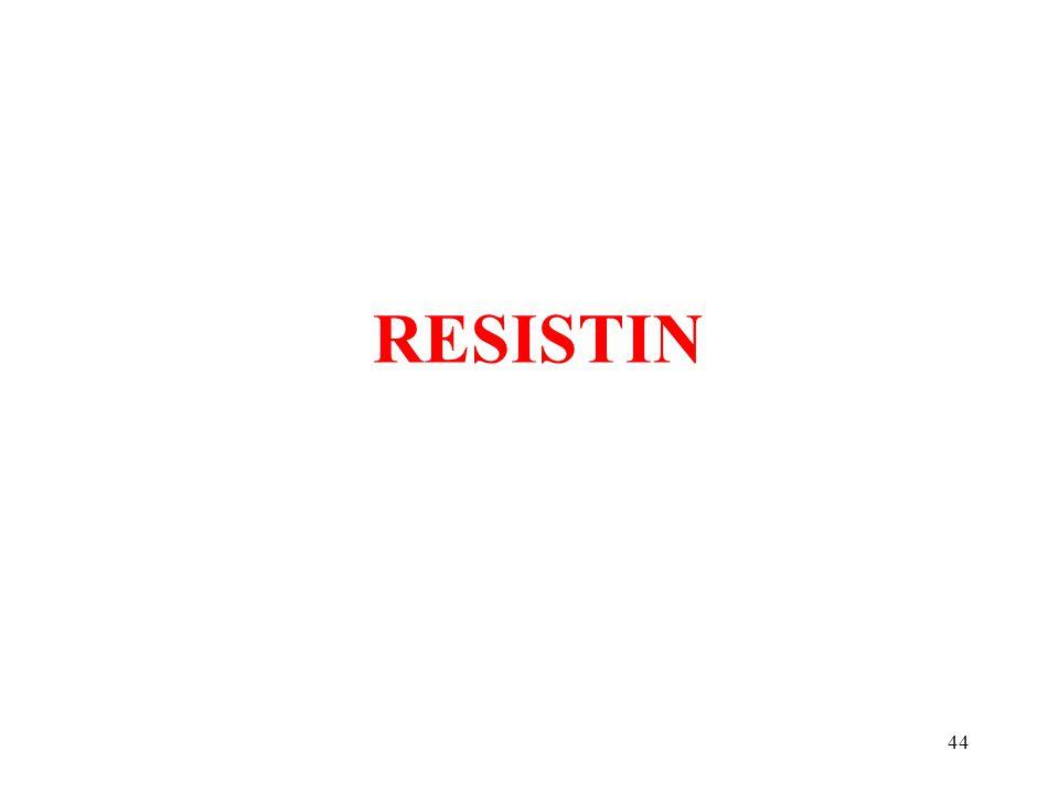 44 RESISTIN