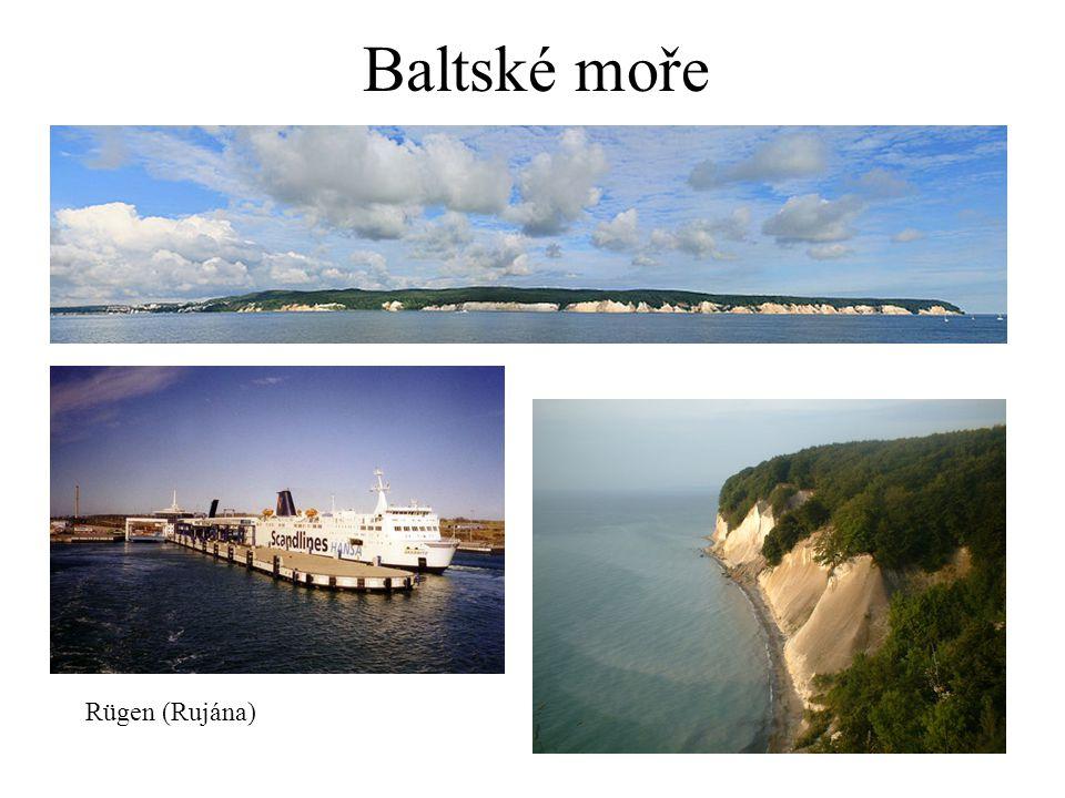 Baltské moře Rügen (Rujána)