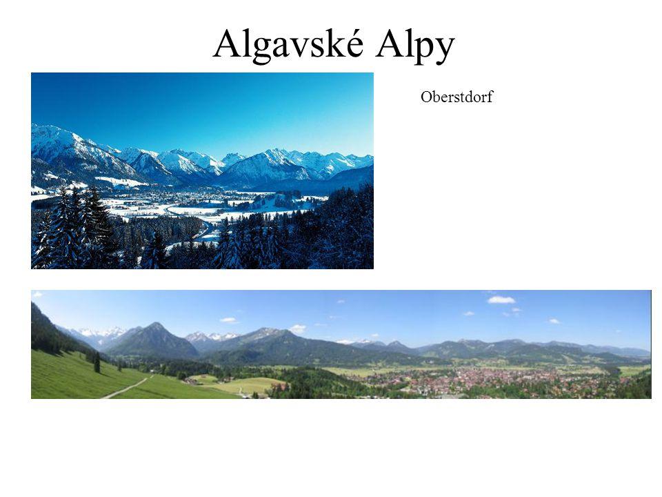 Algavské Alpy Oberstdorf
