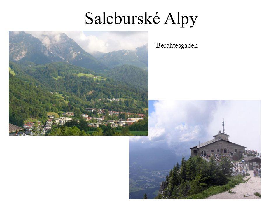 Salcburské Alpy Berchtesgaden