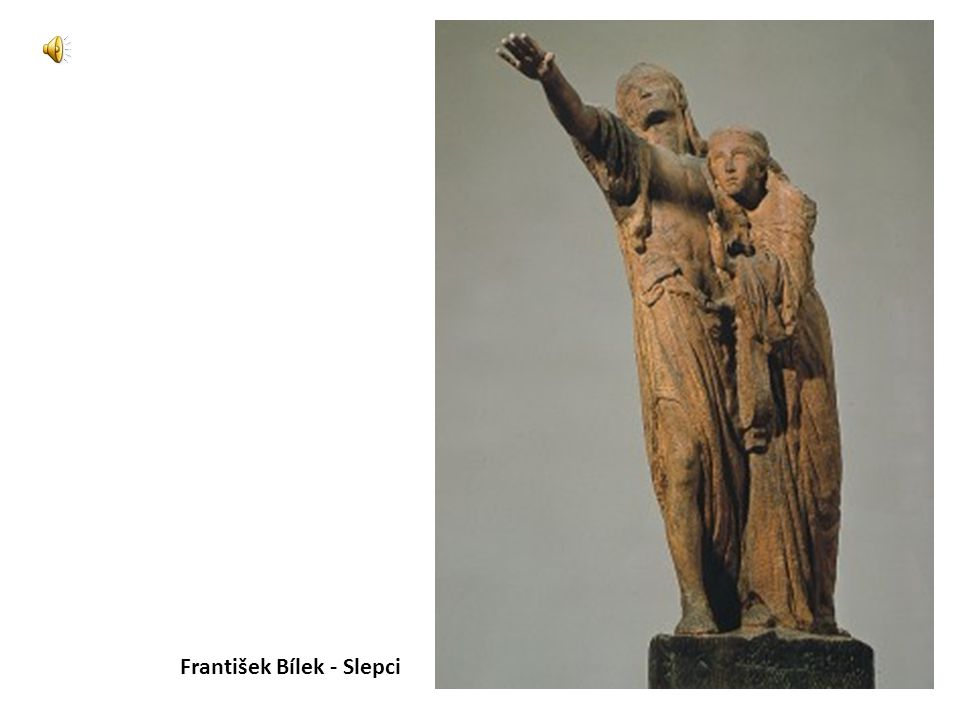 František Bílek - Slepci