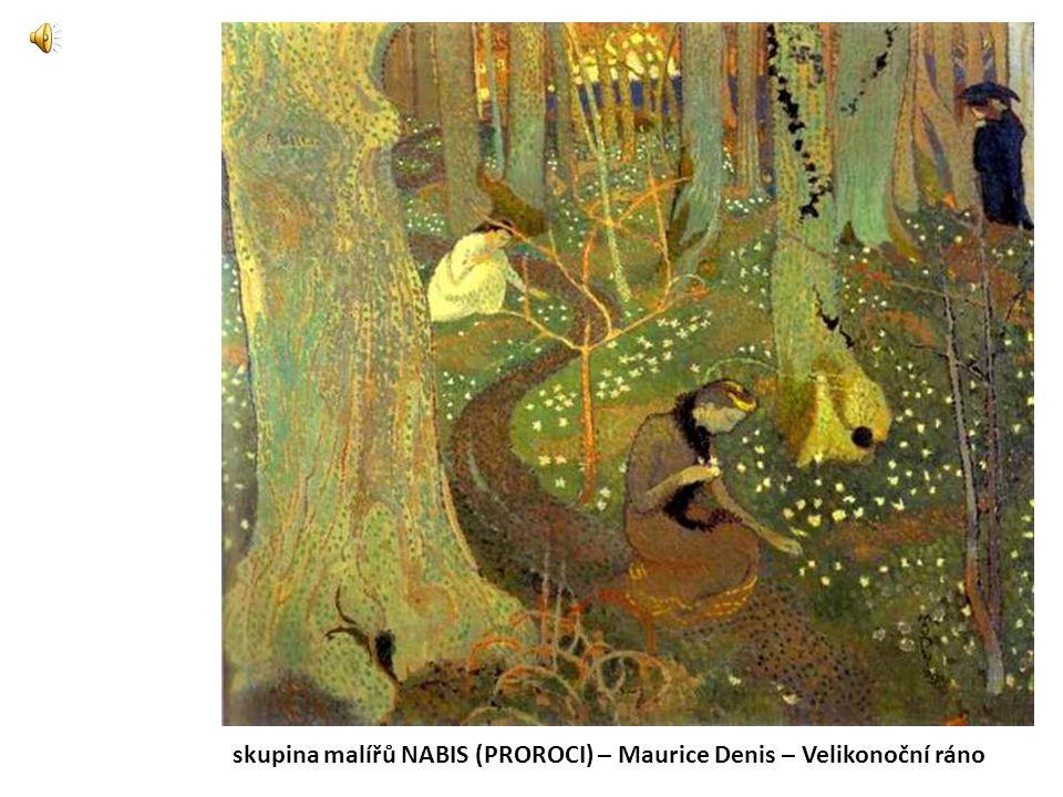 skupina malířů NABIS (PROROCI) – Maurice Denis – Velikonoční ráno