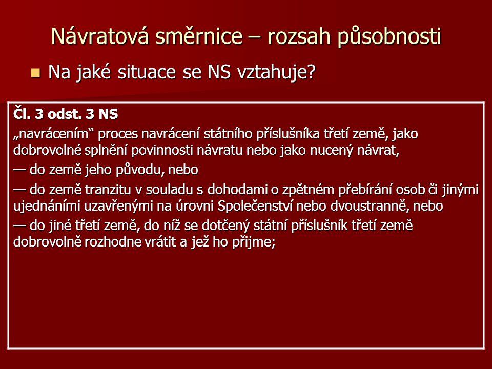 Krok 1 – rozhodnutí o návrácení 1.Povinnost států rozhodnutí o navrácení vydat: Čl.