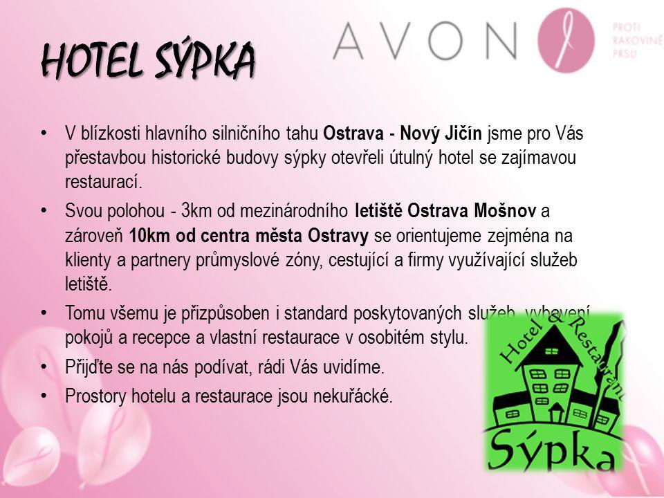 HOTEL SÝPKA V blízkosti hlavního silničního tahu Ostrava - Nový Jičín jsme pro Vás přestavbou historické budovy sýpky otevřeli útulný hotel se zajímav