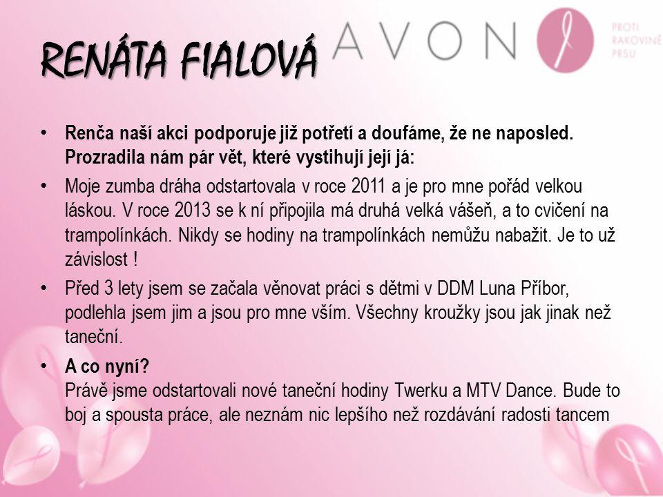AVON COSMETICS Kosmetická firma, která vládne celým světem… Mimo jiné také podporuje projekty proti domácímu násilí nebo právě pomáhá v boji proti rakovině prsu… Webové stránky: www.avon.cz www.zdravaprsa.cz