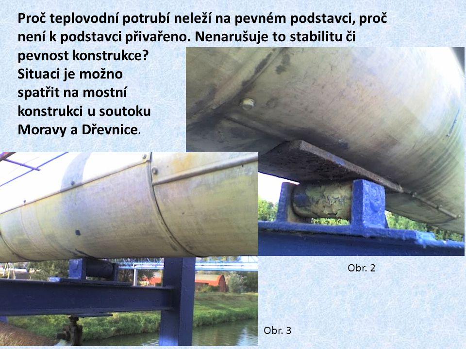 Železniční most přes řeku Moravu.Proč hlavní nosníky mostní konstrukce spočívají na válečcích.