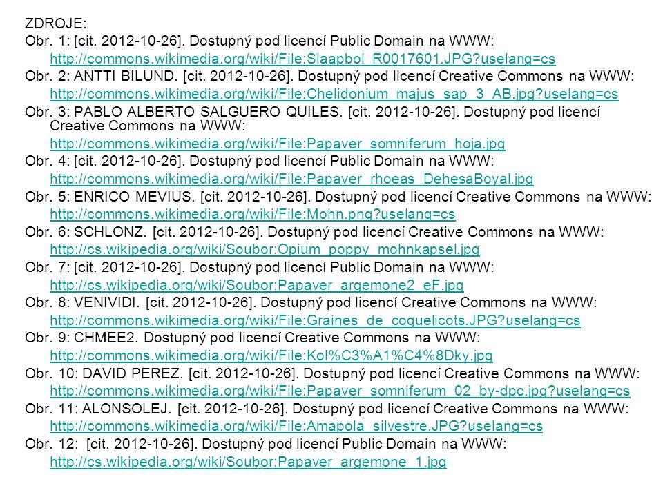 ZDROJE: Obr. 1: [cit. 2012-10-26]. Dostupný pod licencí Public Domain na WWW: http://commons.wikimedia.org/wiki/File:Slaapbol_R0017601.JPG?uselang=cs