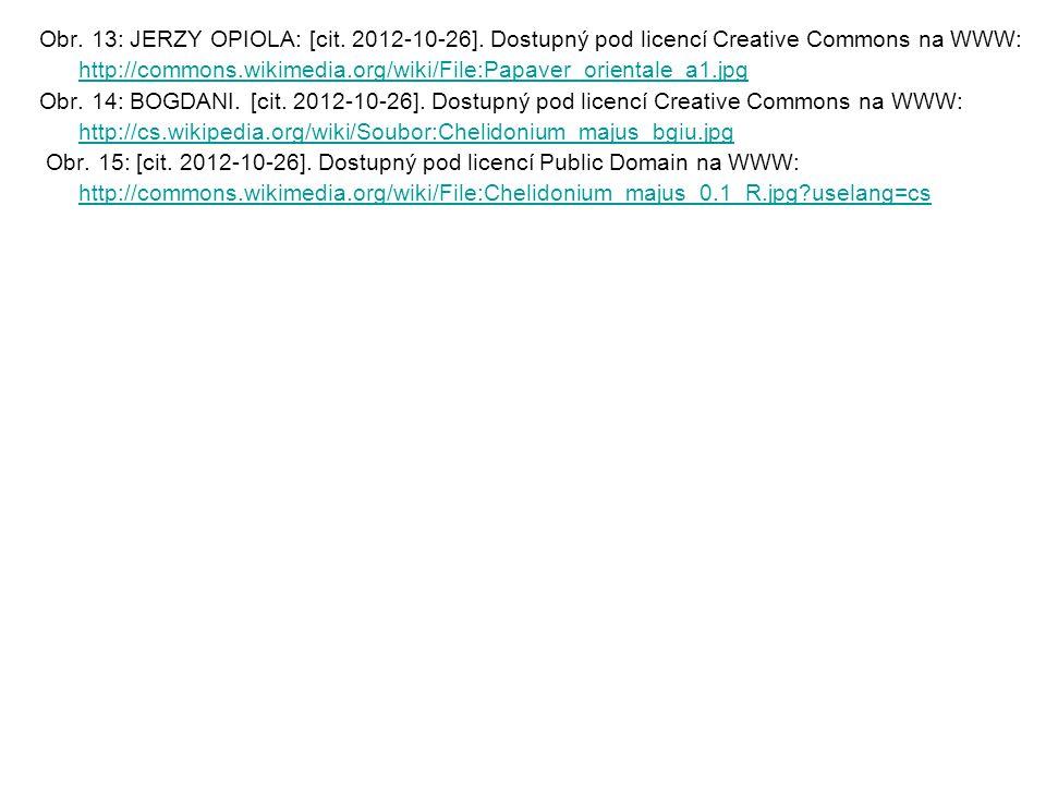 Obr. 13: JERZY OPIOLA: [cit. 2012-10-26]. Dostupný pod licencí Creative Commons na WWW: http://commons.wikimedia.org/wiki/File:Papaver_orientale_a1.jp