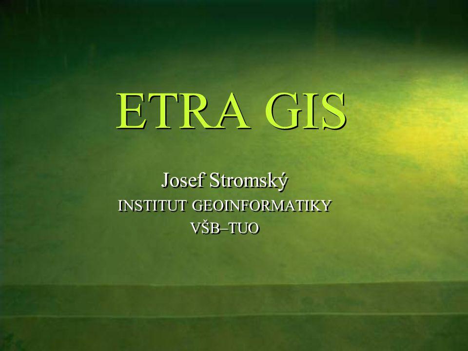 2 Obsah ÚvodÚvod ETRA GIS - architektura systémuETRA GIS - architektura systému Distribuované komponentyDistribuované komponenty ETRA GIS - funkceETRA GIS - funkce Možnosti využití systémuMožnosti využití systému Použité technologiePoužité technologie Další vývojDalší vývoj