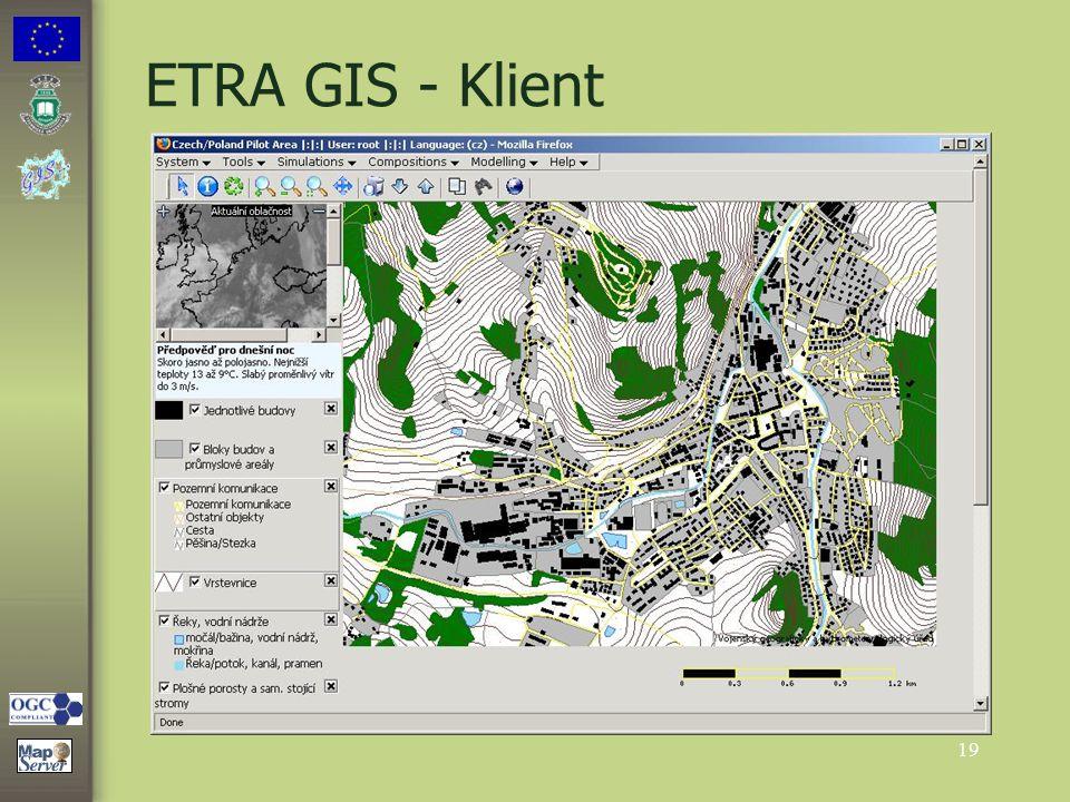 19 ETRA GIS - Klient
