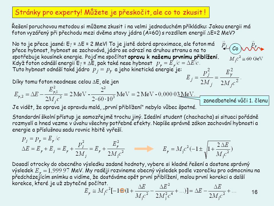 """16 Stránky pro experty! Můžete je přeskočit, ale co to zkusit ! Díky tomu foton neodnese celou  E, ale jen Je vidět, že oprava je opravdu malá, """"prvn"""