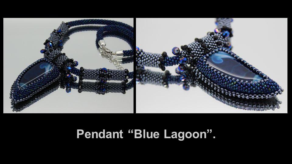"Pendant ""Blue Lagoon""."