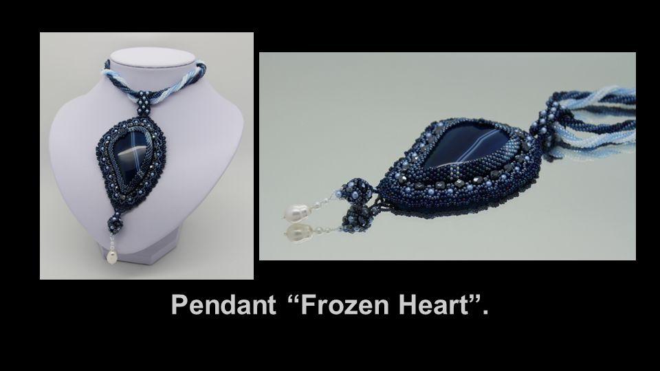 "Pendant ""Frozen Heart""."