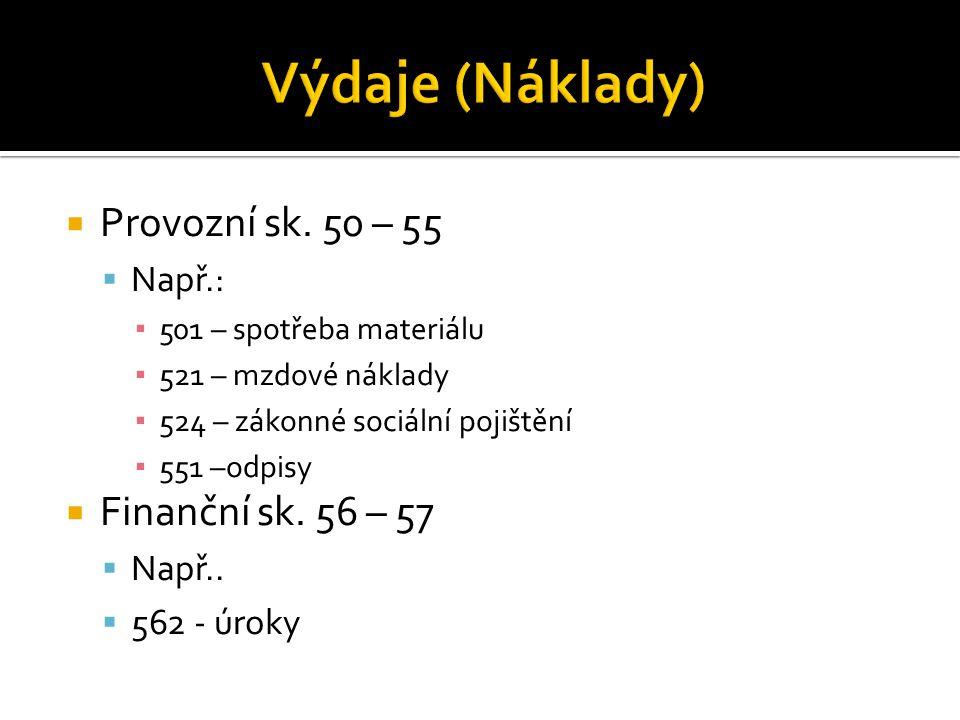 PV (sk.60 – 64)  - PN (sk- 50 – 55)  VH z PČ  FV (sk.