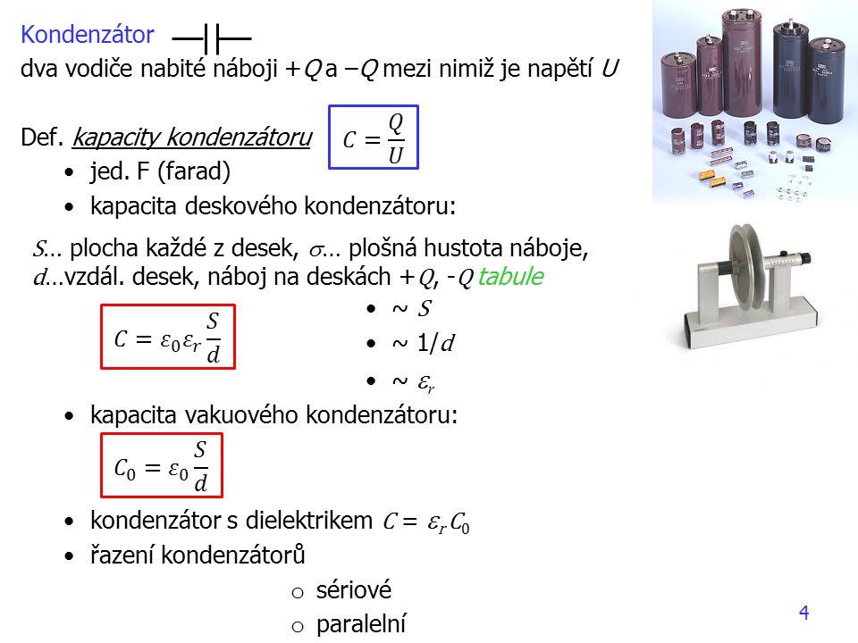 15 2.Kirchhoffův zák. – v každé smyčce je součet elektromot.