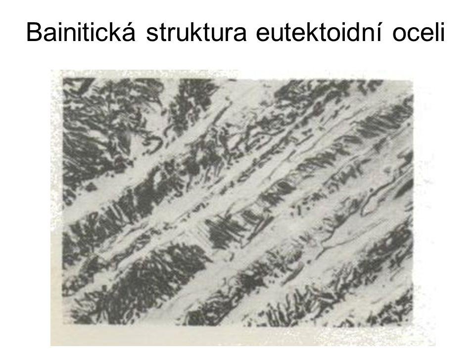 Bainitická struktura eutektoidní oceli