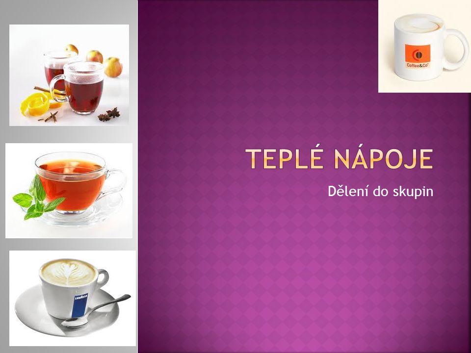  Servis čaje se liší dle druhu  Jinak podáváme černý,ovocný a bylinný čaj  Rozdíl je pouze v přípravě a spolu podávaných ingrediencích  Charakter servisu odpovídá středisku kde čaj podáváme