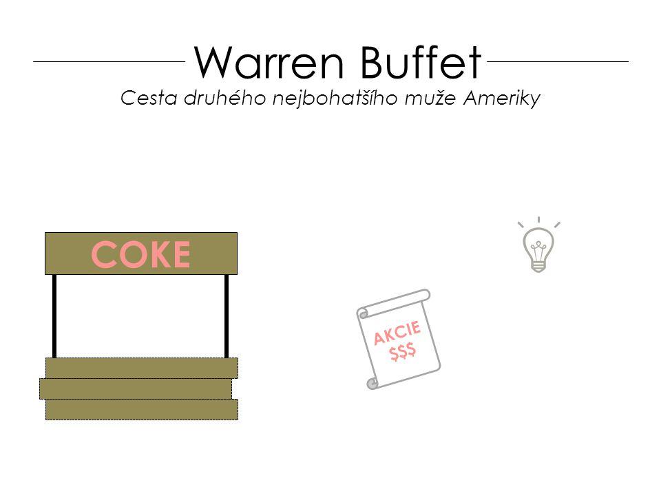 Warren Buffet COKE AKCIE $$$ Cesta druhého nejbohatšího muže Ameriky