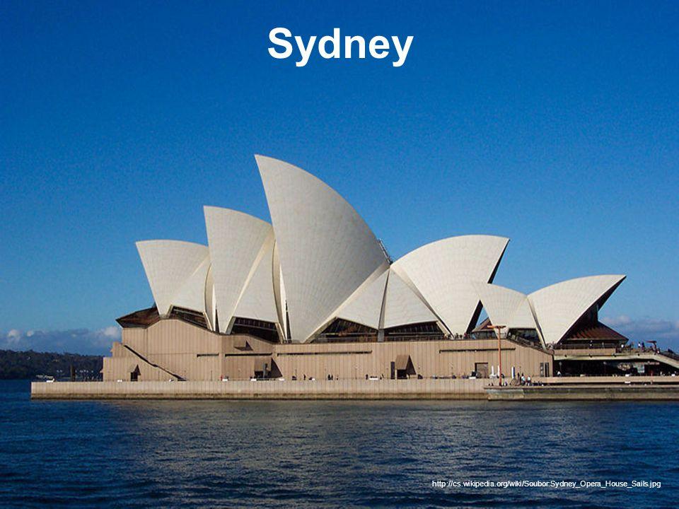 Sydney http://cs.wikipedia.org/wiki/Soubor:Sydney_Opera_House_Sails.jpg