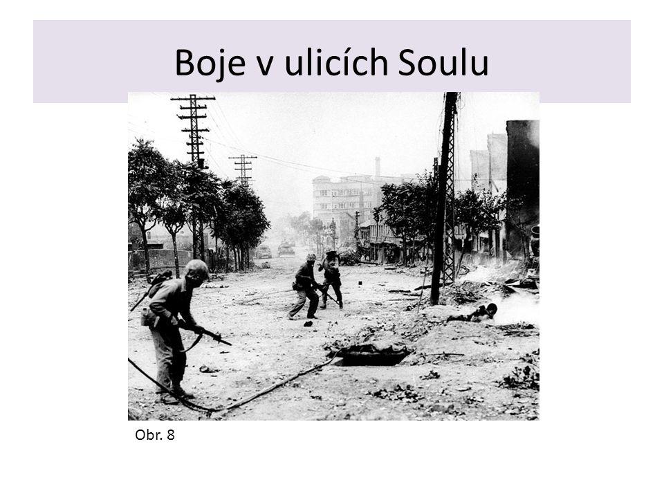 Boje v ulicích Soulu Obr. 8