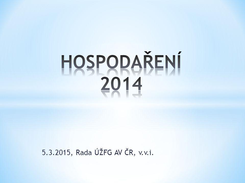 5.3.2015, Rada ÚŽFG AV ČR, v.v.i.