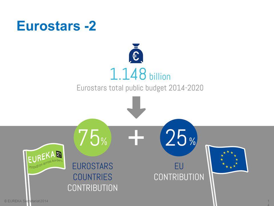 Eurostars -2 © EUREKA Secretariat 2014 1414