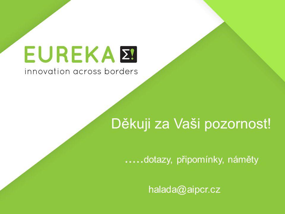 Děkuji za Vaši pozornost!..... dotazy, připomínky, náměty halada@aipcr.cz