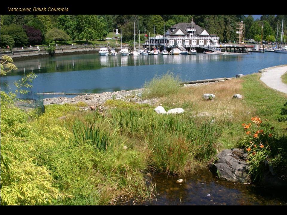 Vancouver – město v západní Kanadě, v provincii Britská Kolumbie, při ústí řeky Fraser do Pacifiku.