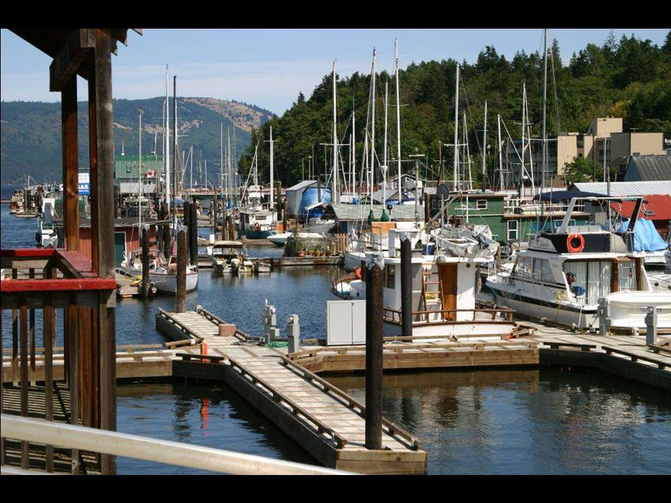 """Domy na """"vodě Vancouver Island"""