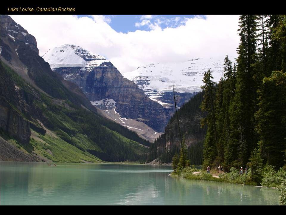 Kanadské Skalnaté hory - jedna ze sedmi hlavních částí tohoto pohoří.