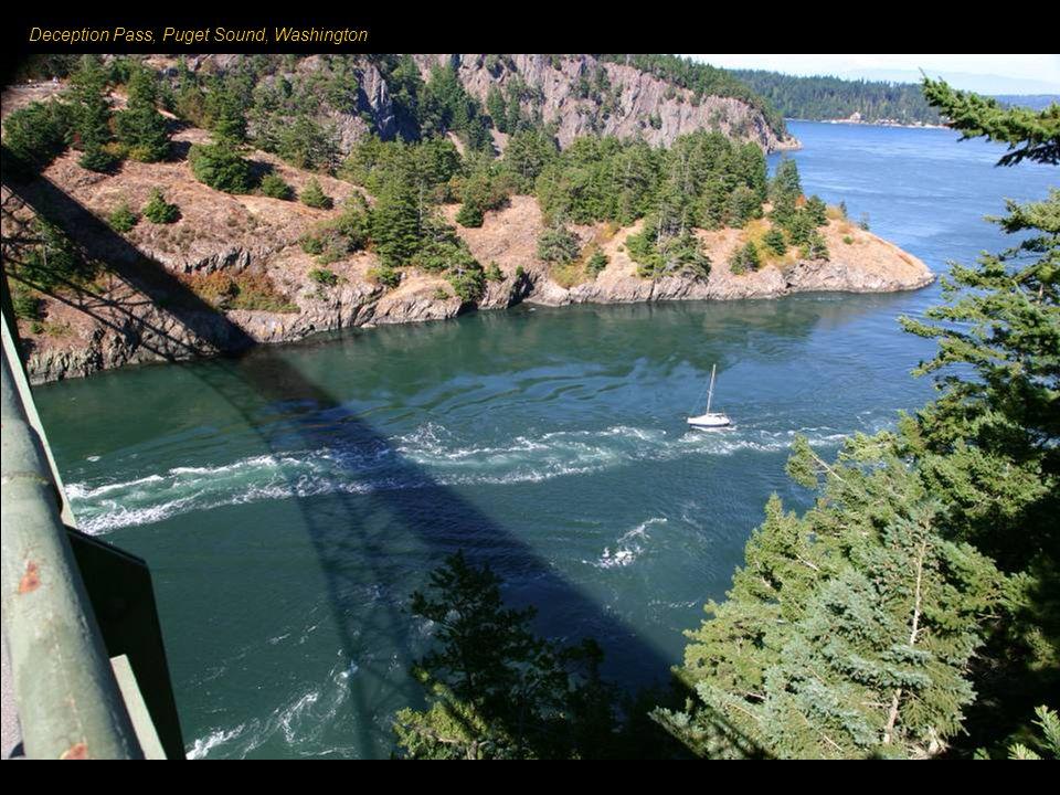 Washington State V severozápadní části USA na hranici s Kanadou