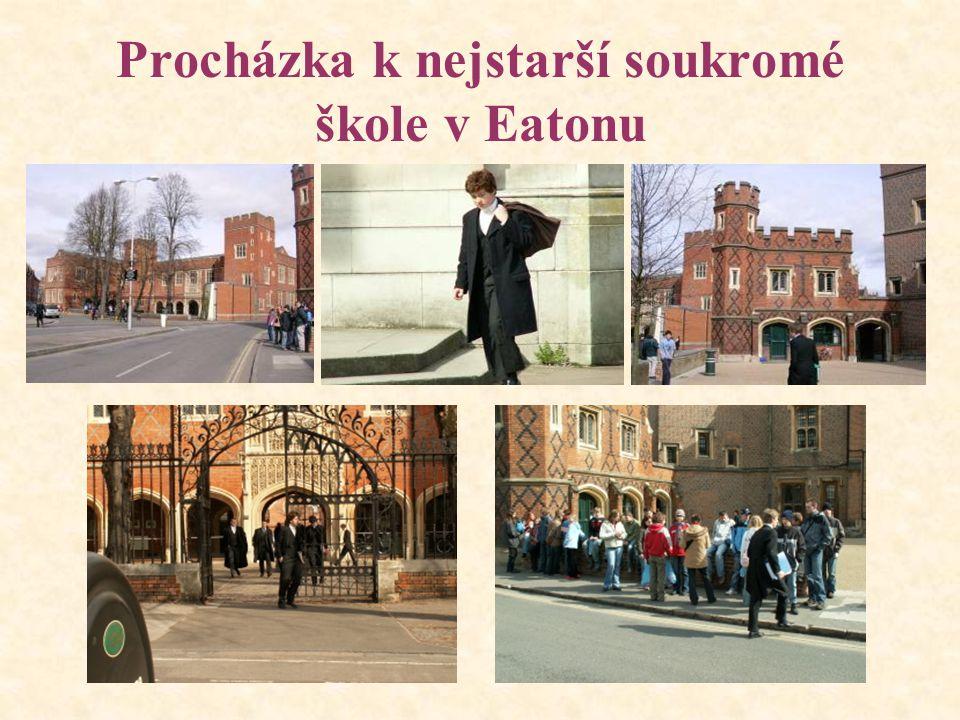 Procházka k nejstarší soukromé škole v Eatonu
