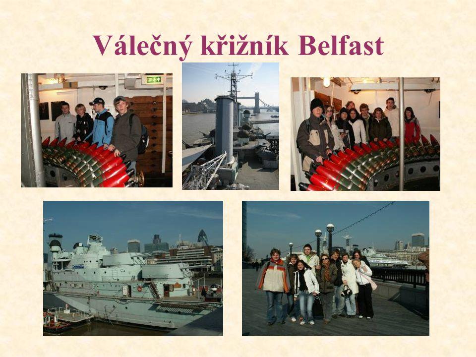 Válečný křižník Belfast
