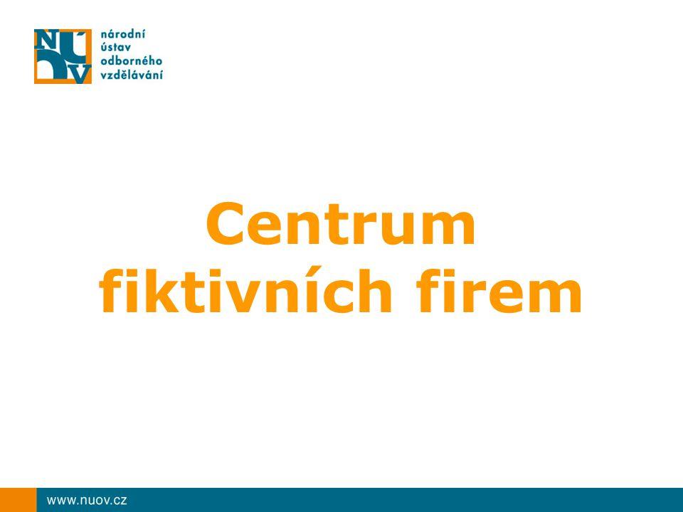 Centrum fiktivních firem