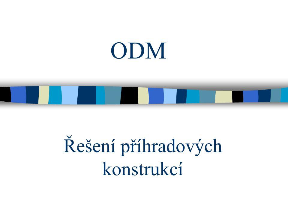 ODM Řešení příhradových konstrukcí