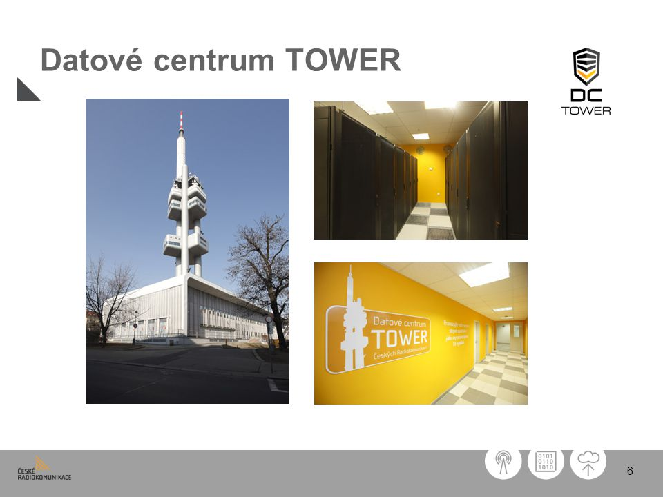 6 Datové centrum TOWER