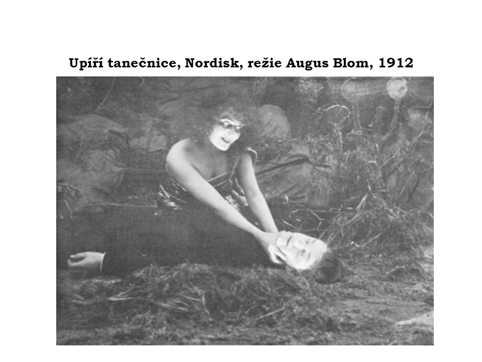 Upíří tanečnice, Nordisk, režie Augus Blom, 1912