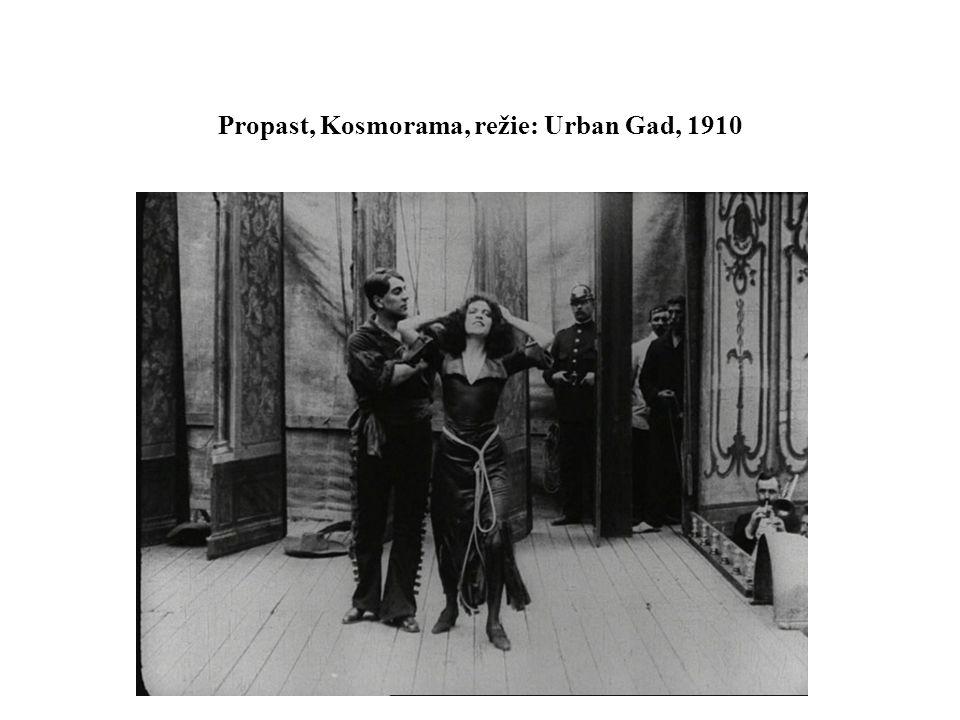 Propast, Kosmorama, režie: Urban Gad, 1910