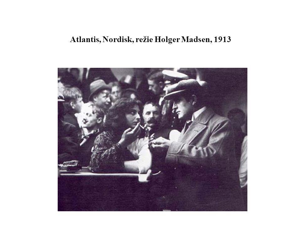 Atlantis, Nordisk, režie Holger Madsen, 1913