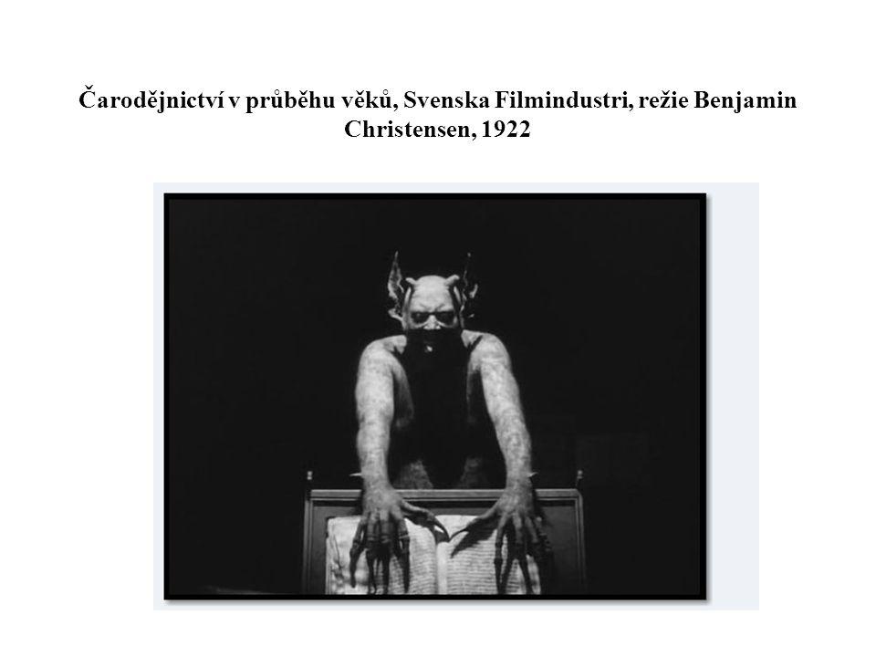 Čarodějnictví v průběhu věků, Svenska Filmindustri, režie Benjamin Christensen, 1922