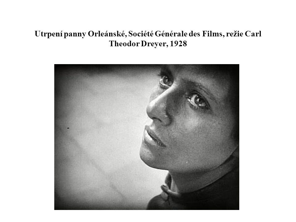 Utrpení panny Orleánské, Société Générale des Films, režie Carl Theodor Dreyer, 1928