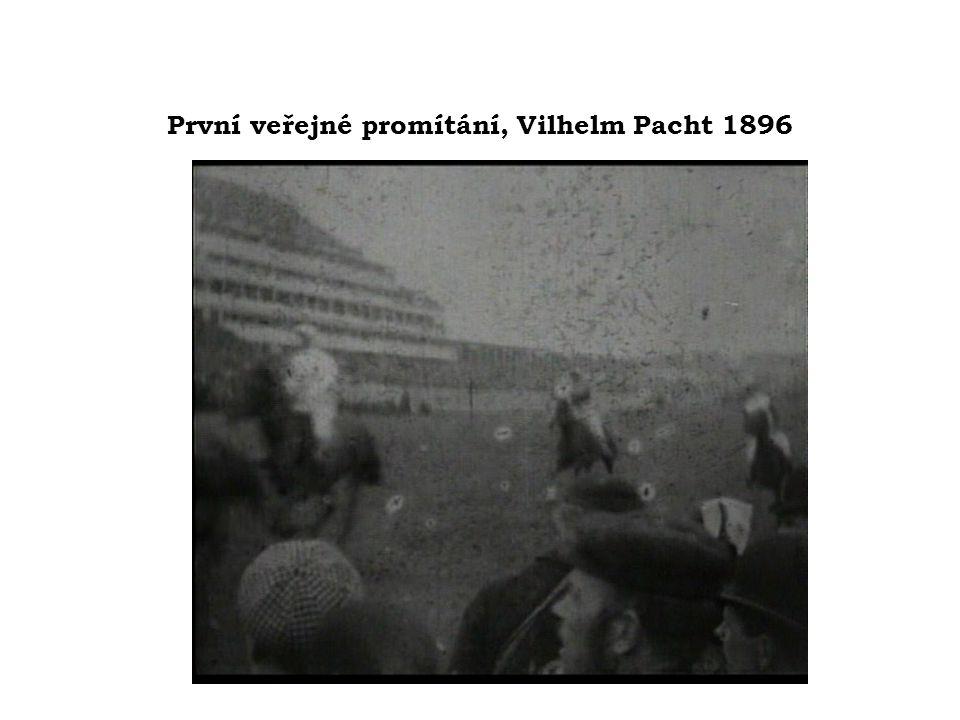 První veřejné promítání, Vilhelm Pacht 1896