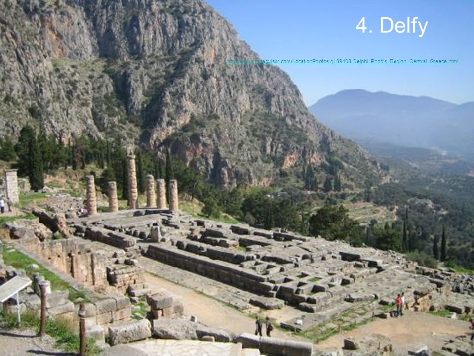 4. Delfy http://www.tripadvisor.com/LocationPhotos-g189408-Delphi_Phocis_Region_Central_Greece.html