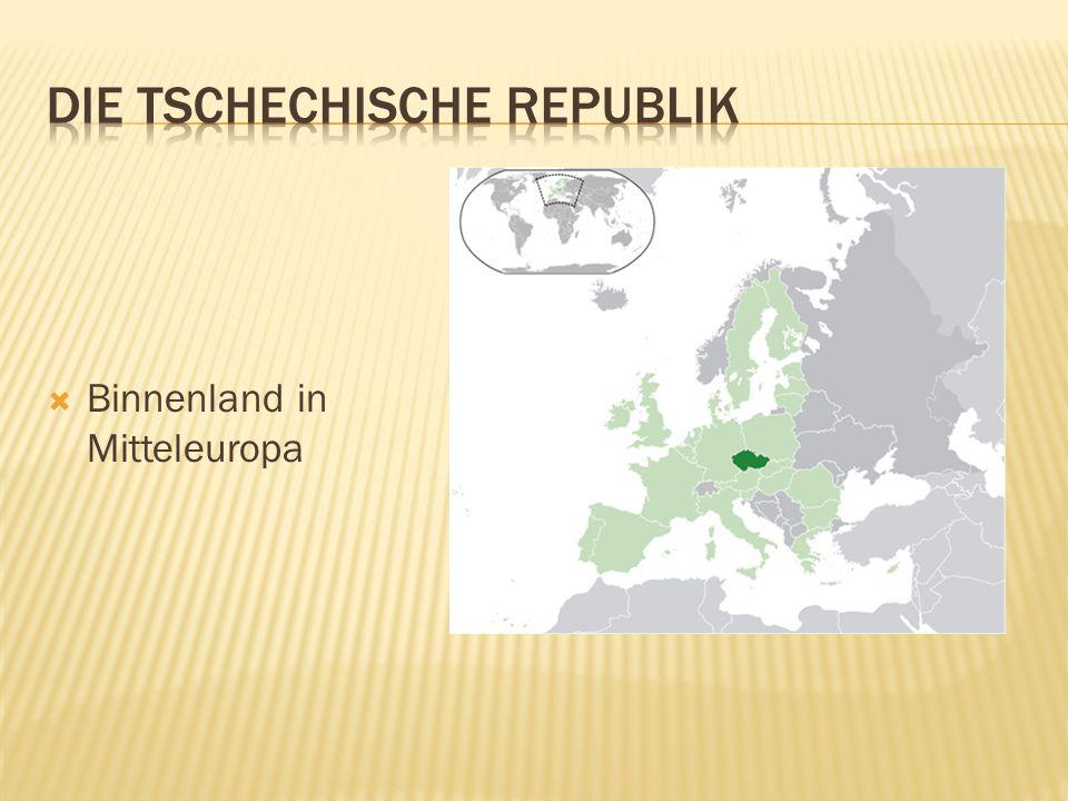  Binnenland in Mitteleuropa