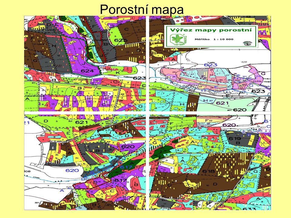 Porostní mapa